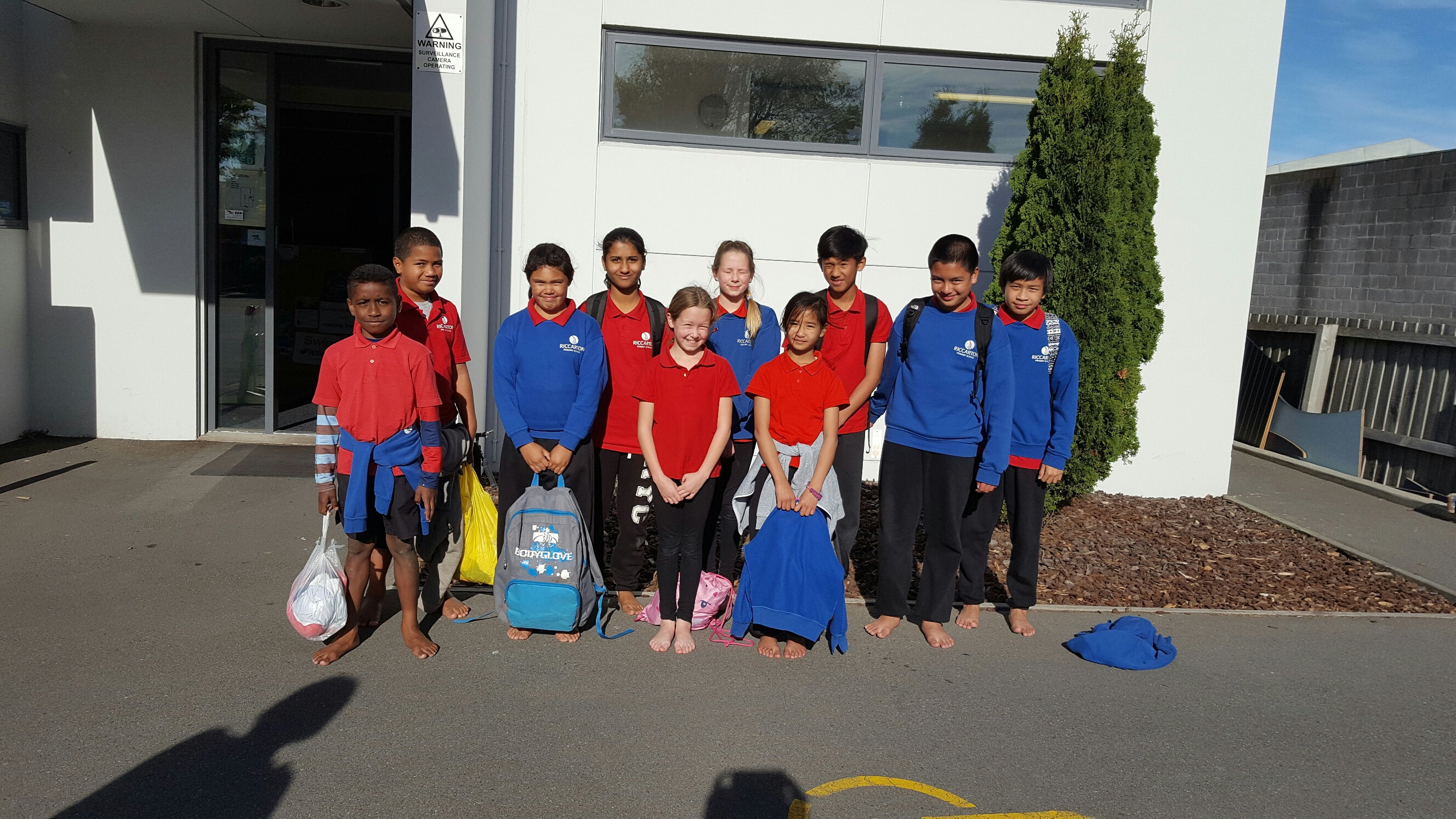 Doreen Brown Trust puts smiles on young swimmers' faces